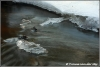 Ijs en stromend water / Ice and water flowing  (Copyright Yvonne van der Mey)