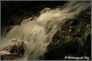 Waterval tijdens raw workshop (Copyright Yvonne van der Mey)